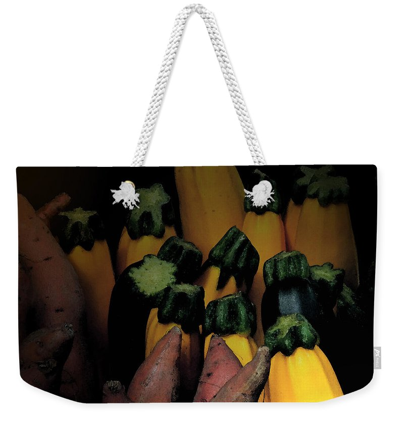 Sweet Potatoe Weekender Tote Bag featuring the photograph On Guard by Ian MacDonald