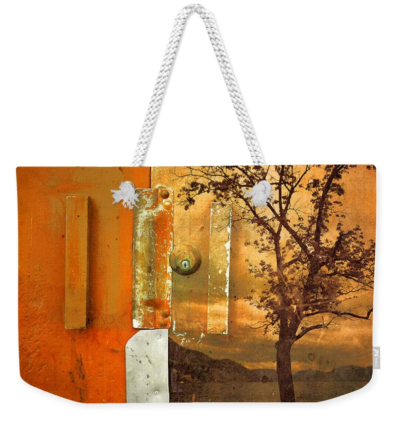 Door Weekender Tote Bag featuring the photograph On The Other Side Of The Door by Tara Turner