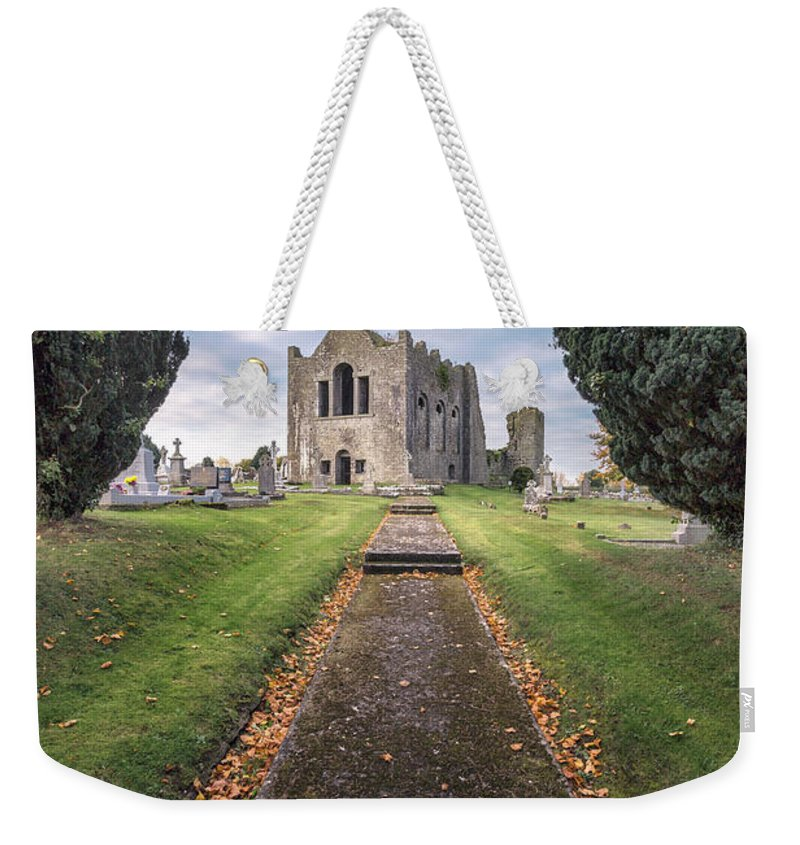 Kremsdorf Weekender Tote Bag featuring the photograph On To Forever by Evelina Kremsdorf