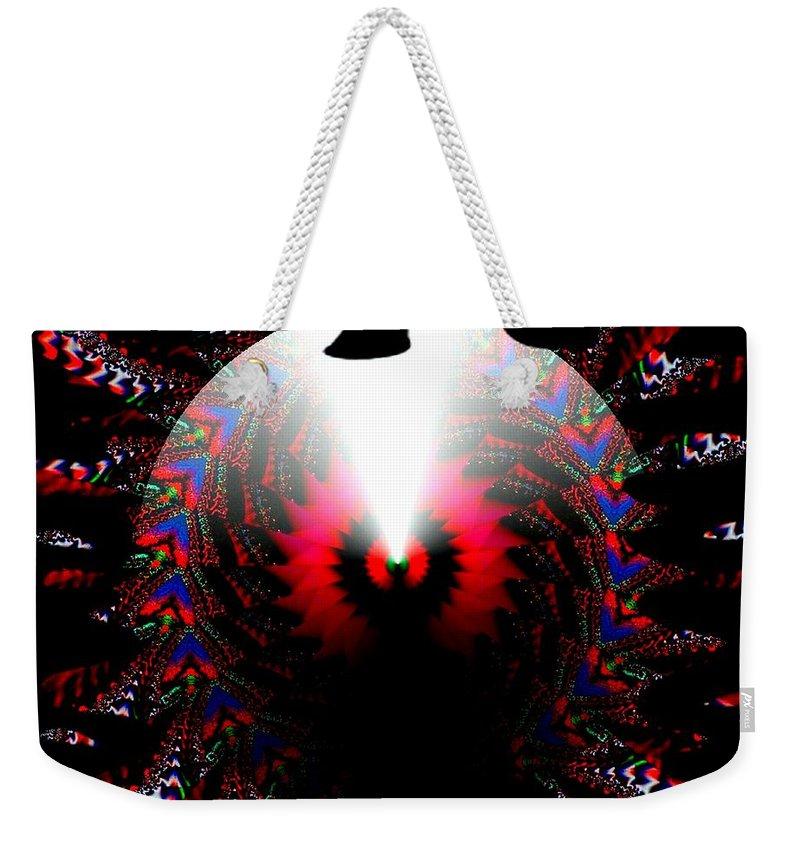 Cone Weekender Tote Bag featuring the digital art Once In A Lifetime by Robert Orinski