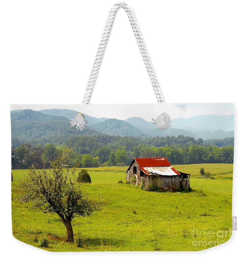Farm Weekender Tote Bag featuring the photograph Once Upon A Time by David Lee Thompson