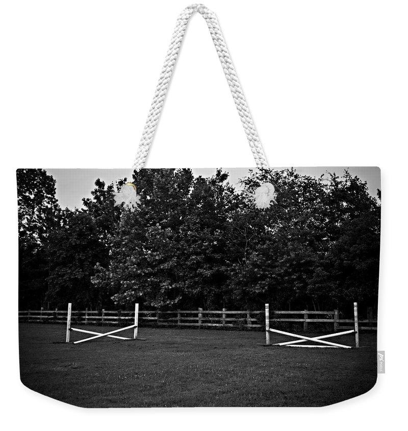 Fences Weekender Tote Bag featuring the photograph Once Upon A Time by Hannah Breidenbach