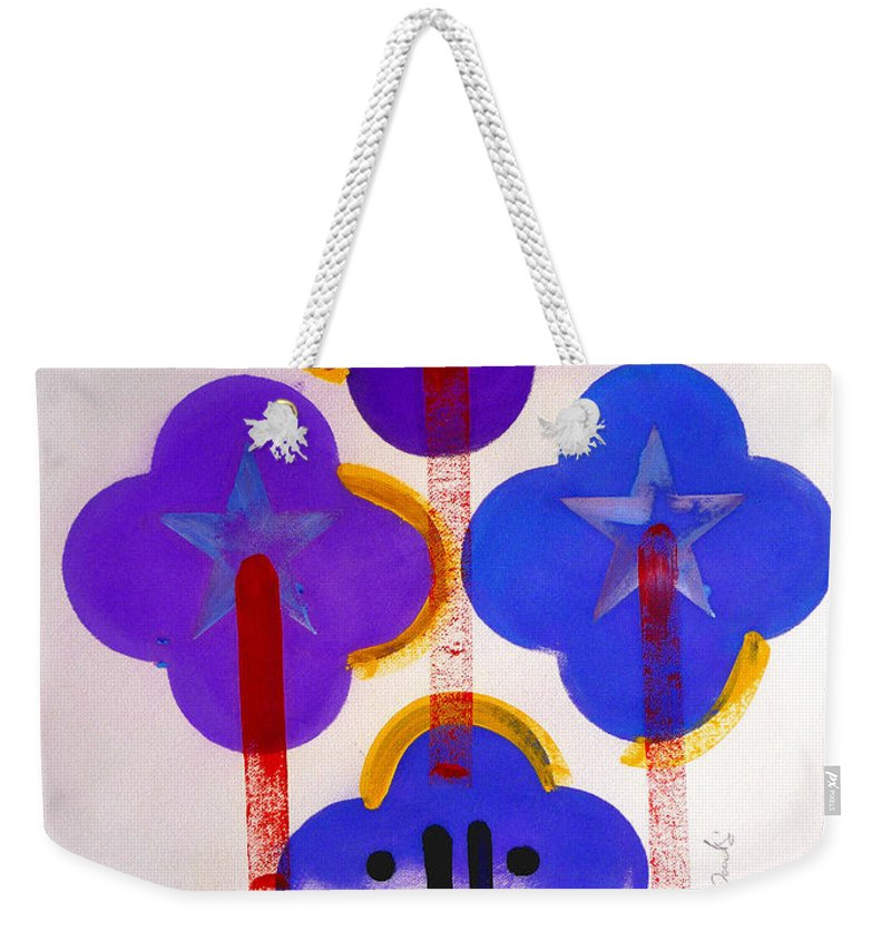 Drawing Weekender Tote Bag featuring the painting Once Upon-a-time In The Woods by Charles Stuart