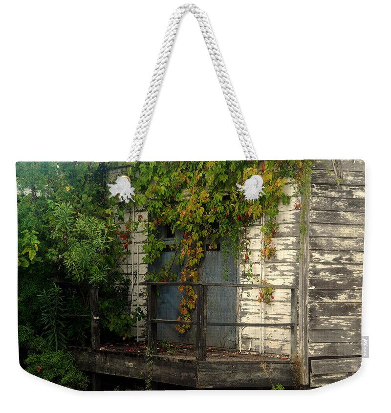 Once Upon A Time Weekender Tote Bag featuring the photograph Once Upon A Time by Susanne Van Hulst