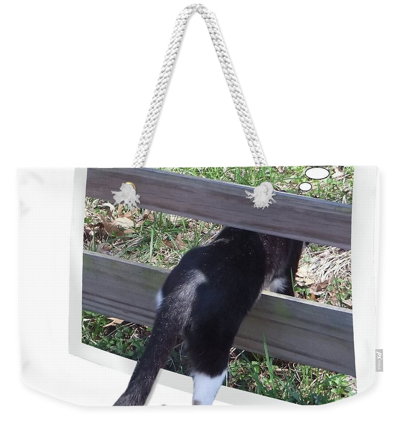 2d Weekender Tote Bag featuring the photograph One Day by Brian Wallace