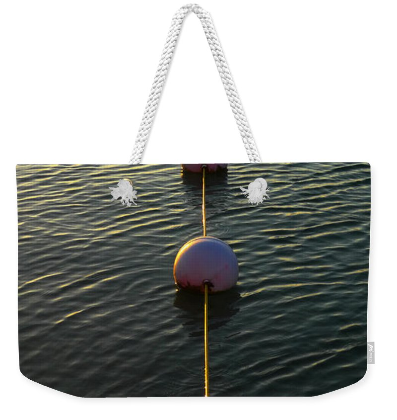 Skiphunt Weekender Tote Bag featuring the photograph One Toke Over The Line by Skip Hunt