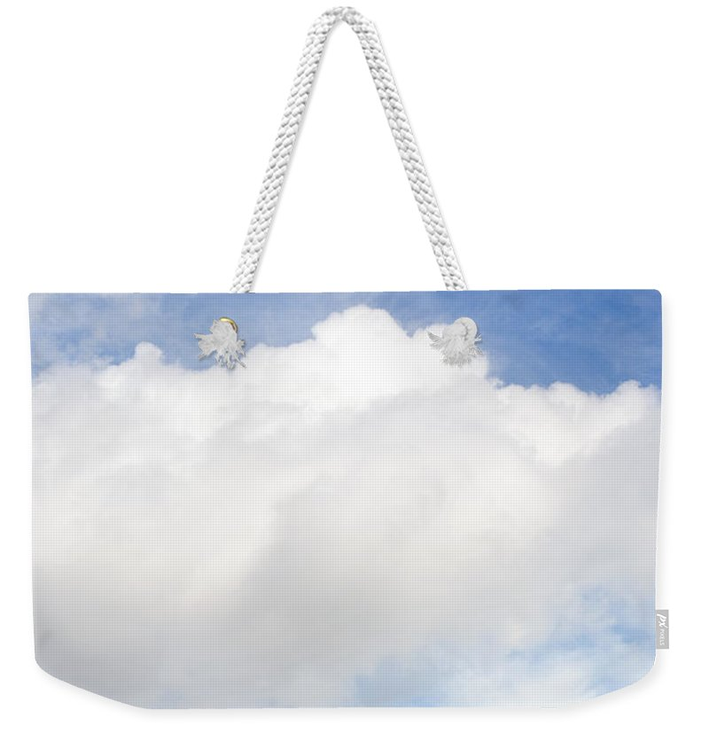 Landscape Weekender Tote Bag featuring the photograph One Tree Hill by Mal Bray