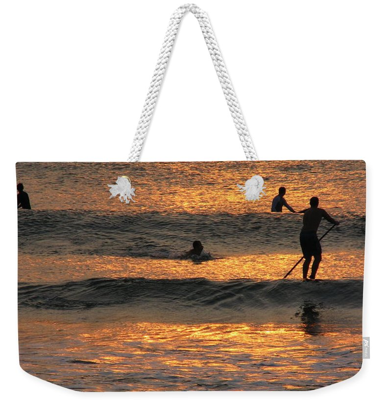 Art For The Wall...patzer Photography Weekender Tote Bag featuring the photograph One With Nature by Greg Patzer