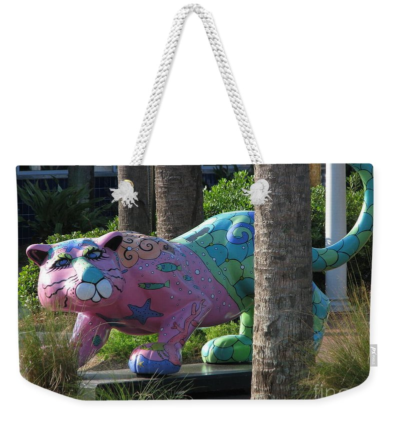 Patzer Weekender Tote Bag featuring the photograph Only At The Beach by Greg Patzer