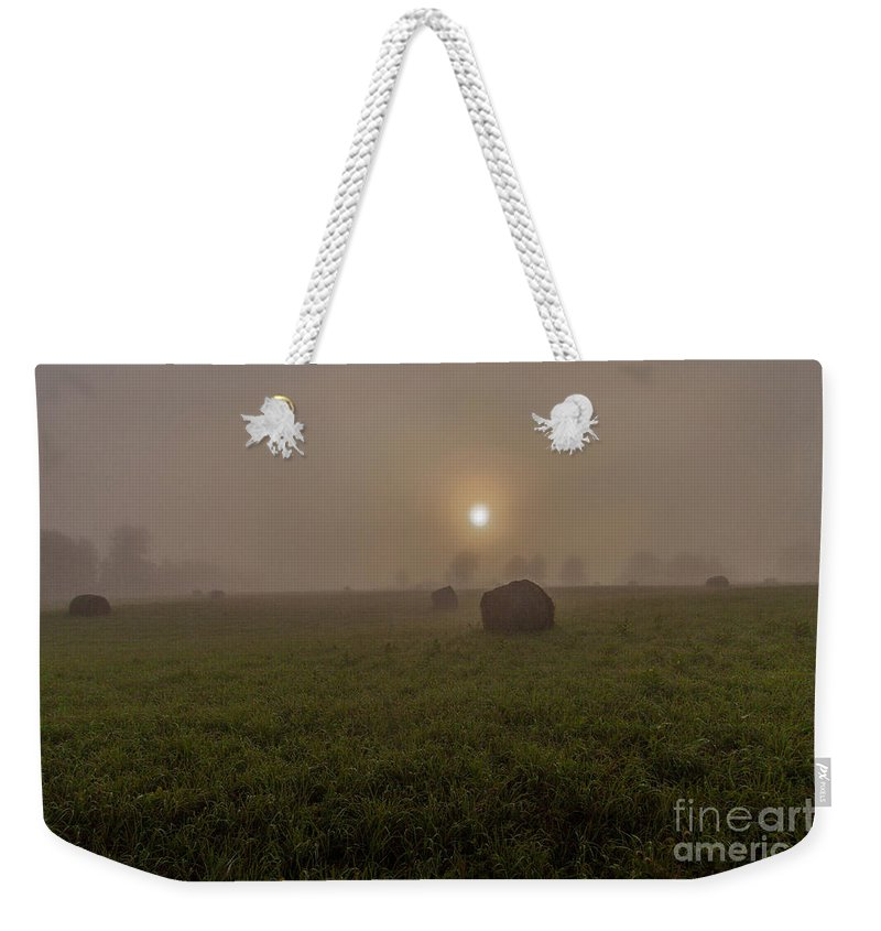 Addington Weekender Tote Bag featuring the photograph Ontario Highlands Dawn by Roger Monahan