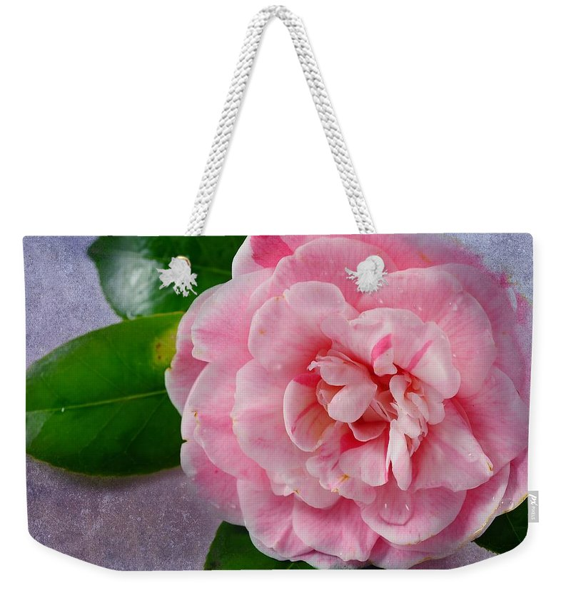 Macro Weekender Tote Bag featuring the photograph Open Unto Thee by Georgiana Romanovna