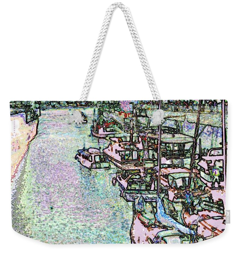 Seattle Weekender Tote Bag featuring the photograph Opening Day Of Boating by Tim Allen
