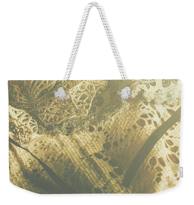 Mask Weekender Tote Bag featuring the photograph Operatic Art by Jorgo Photography - Wall Art Gallery