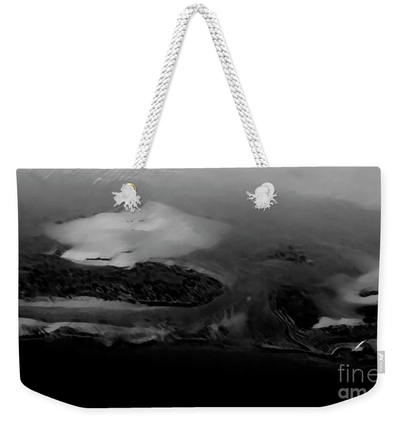 Artistic Weekender Tote Bag featuring the photograph Opposed Convergence by Dorothy Hilde