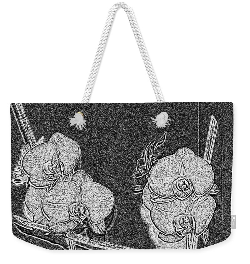 Orchid Weekender Tote Bag featuring the photograph Orchid 3 by Tim Allen