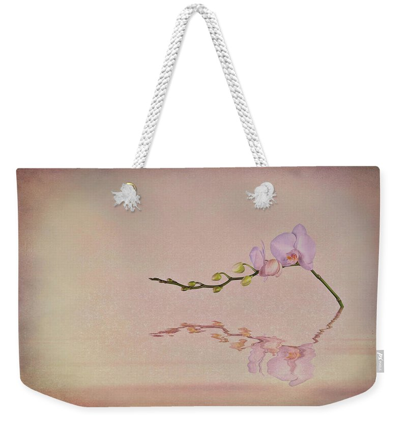 Art Weekender Tote Bag featuring the photograph Orchid Blooms And Buds by Tom Mc Nemar