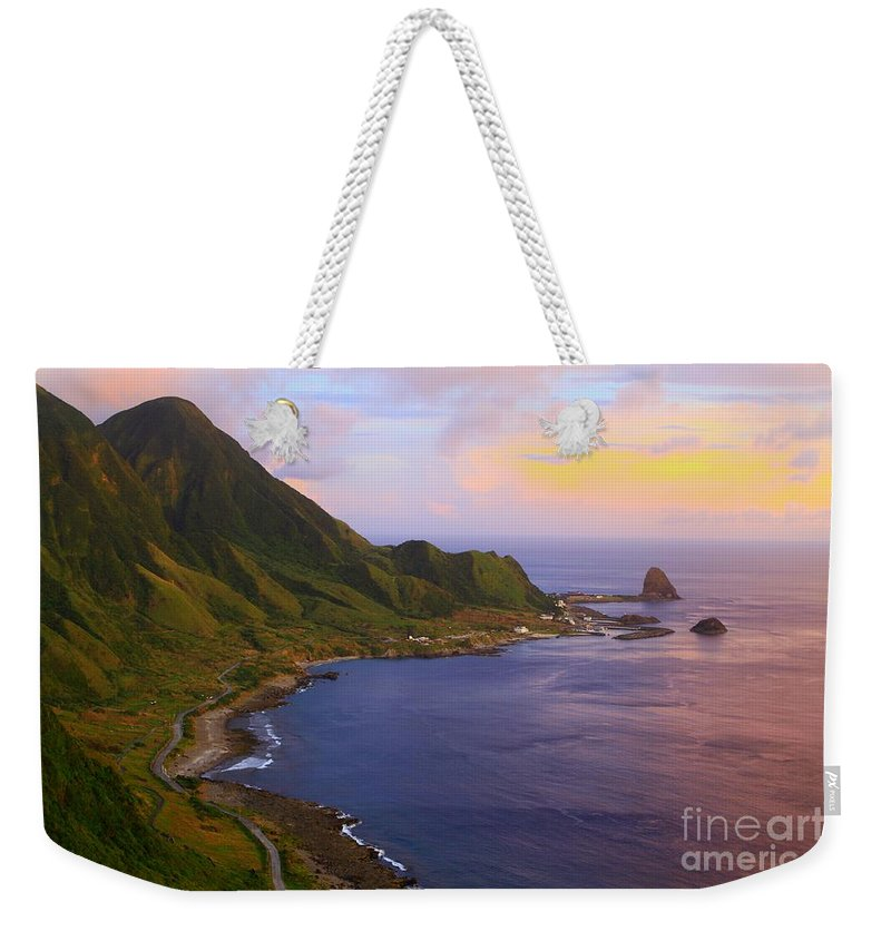 Tatala Weekender Tote Bag featuring the photograph Orchid Island by MingTa Li