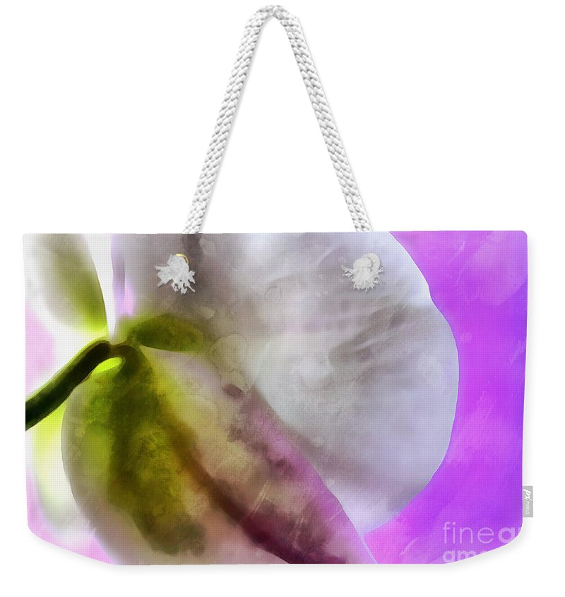 Orchid Weekender Tote Bag featuring the photograph Orchid Of Inspiration by Krissy Katsimbras