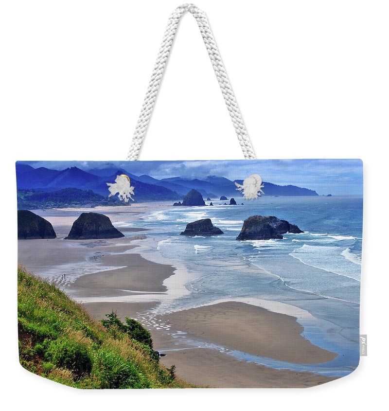 Oregon Weekender Tote Bag featuring the photograph Oregon Coast by Scott Mahon