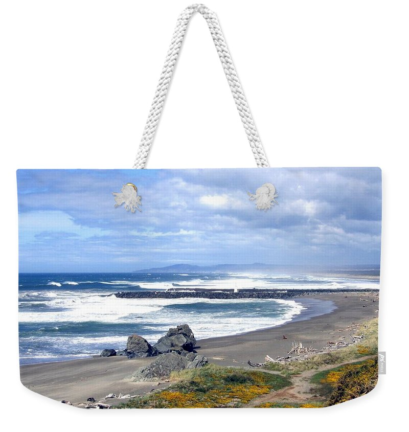 Bandon Weekender Tote Bag featuring the photograph Oregon Coast by Will Borden
