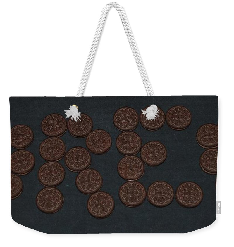 Oreo Weekender Tote Bag featuring the photograph Oreo by Rob Hans