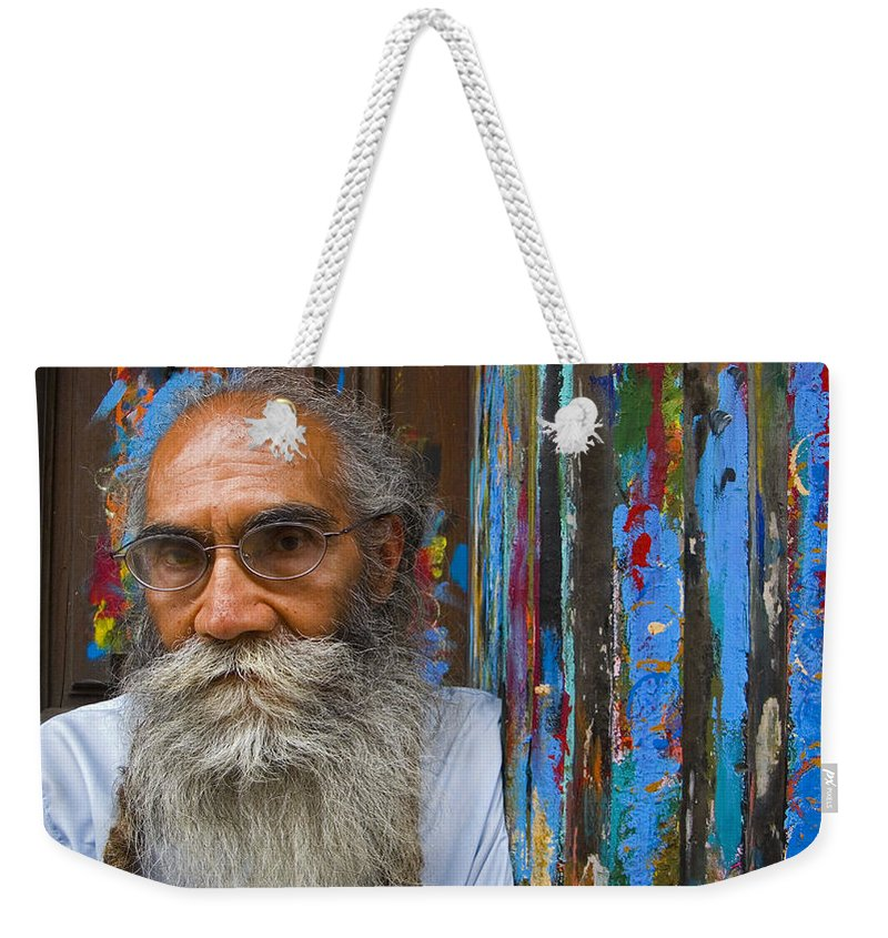 Architecture Weekender Tote Bag featuring the photograph Orizaba Painter by Skip Hunt