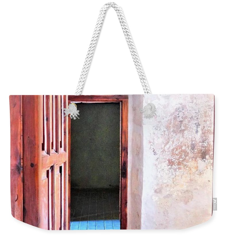Weekender Tote Bag featuring the photograph Other Side by Pablo Munoz