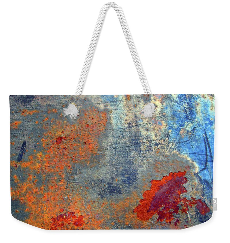 Abstract Weekender Tote Bag featuring the photograph Other Worlds by Tara Turner