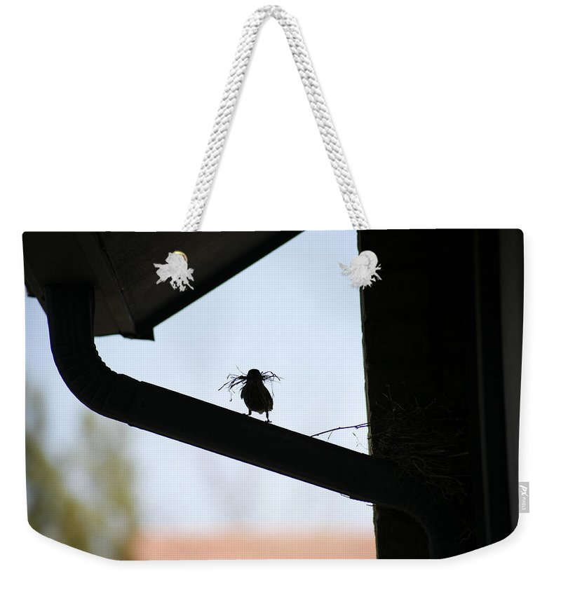 Nest Weekender Tote Bag featuring the photograph Our House by Marilyn Hunt