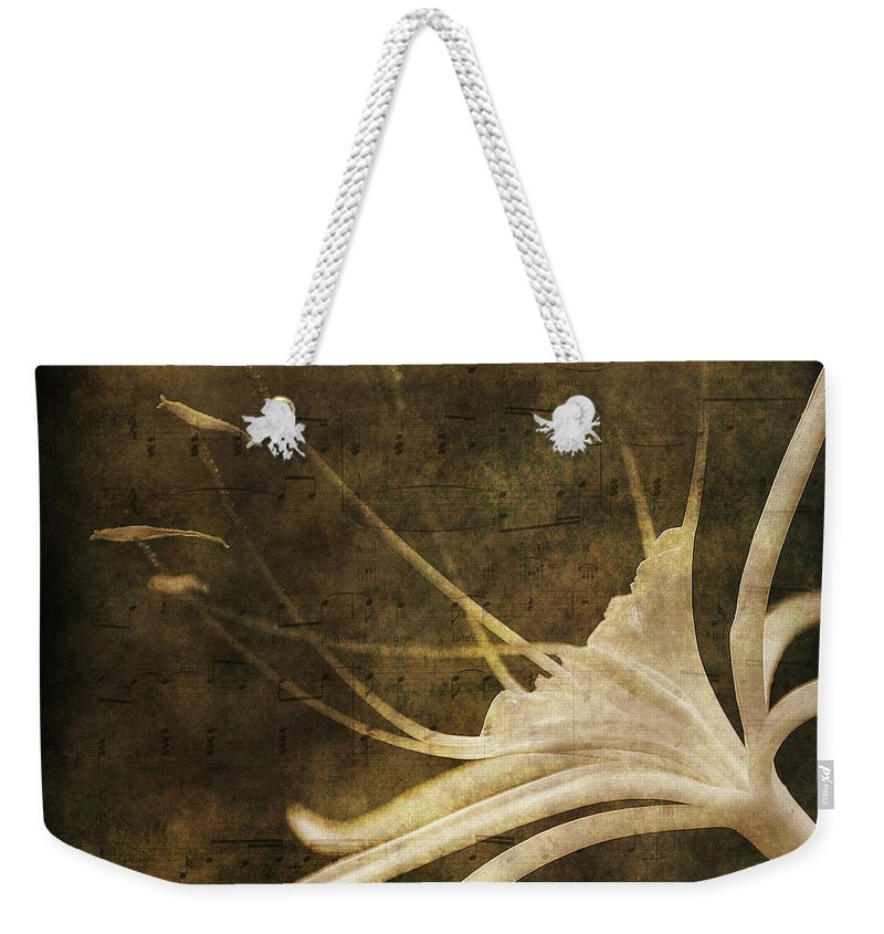 Melody Weekender Tote Bag featuring the photograph Our Melody by Susanne Van Hulst