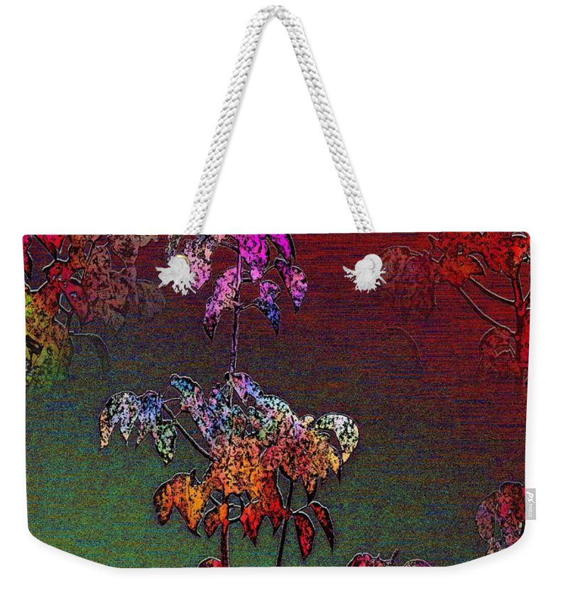 Mist Weekender Tote Bag featuring the digital art Out Of The Mist 3 by Tim Allen