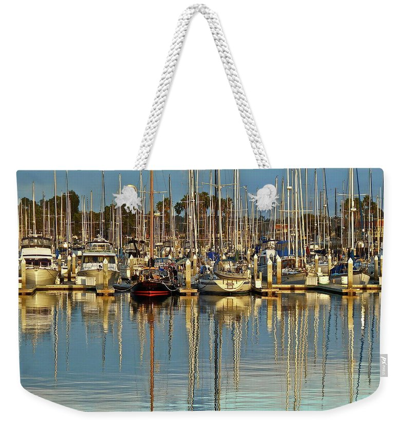 Boat Weekender Tote Bag featuring the photograph Out Of The Ordinary by Diana Hatcher