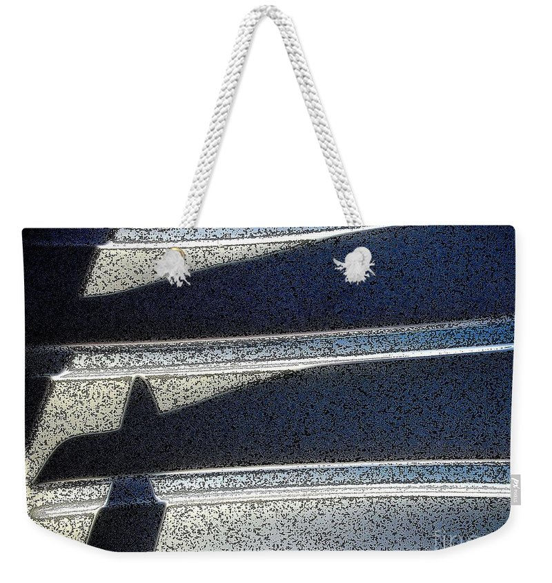 Digital Art Weekender Tote Bag featuring the digital art Out Shadows by Ron Bissett