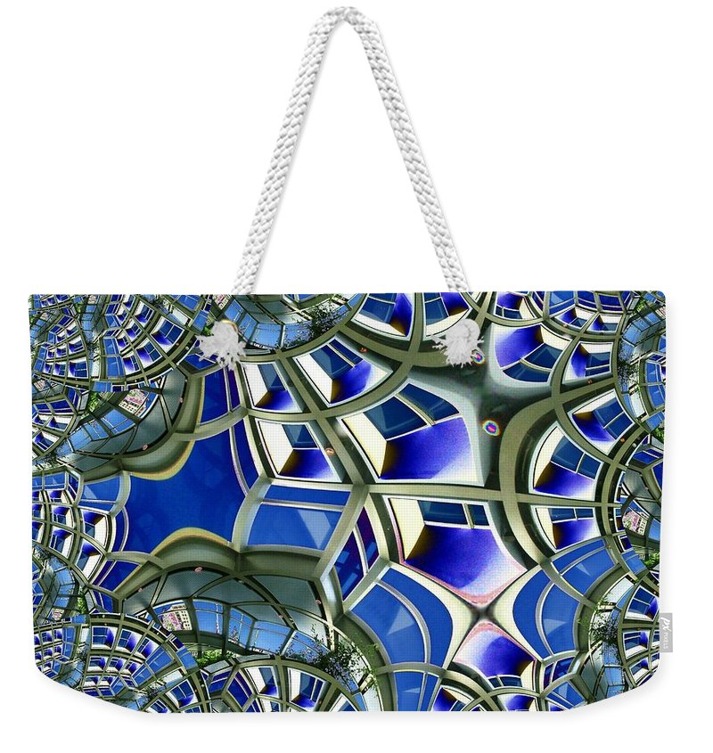 Windows Weekender Tote Bag featuring the photograph Out The Looking Glass by Tim Allen