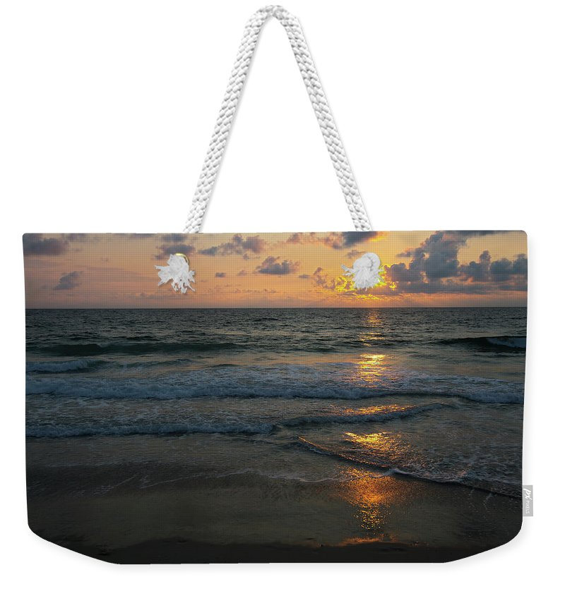 Outer Banks Weekender Tote Bag featuring the photograph Outer Banks Morning by Art Cole
