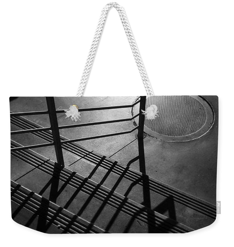 Architecture Weekender Tote Bag featuring the photograph Ovation by Skip Hunt