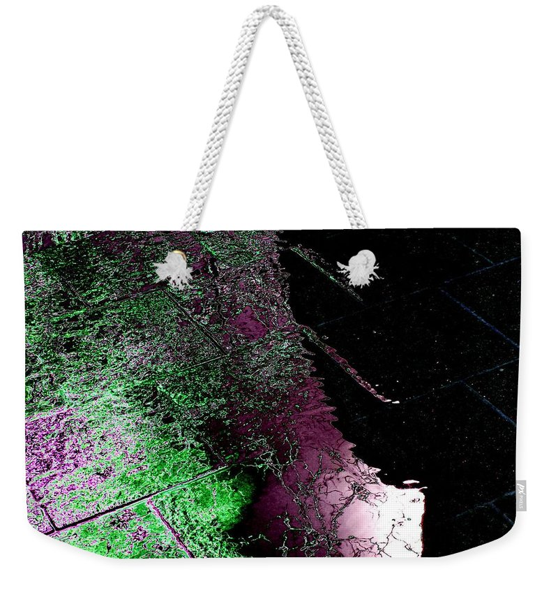 Water Weekender Tote Bag featuring the photograph Over Halfway There by Tim Allen