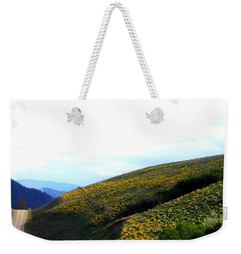 Hills Weekender Tote Bag featuring the photograph Over Hill And Dale by Will Borden