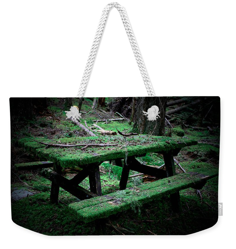 Picnic Weekender Tote Bag featuring the photograph Overgrown by Danielle Silveira