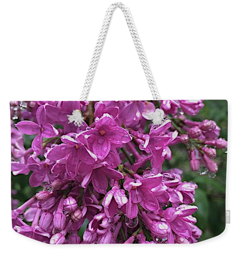 Blooms Weekender Tote Bag featuring the photograph Overwhelmed by Joseph Yarbrough