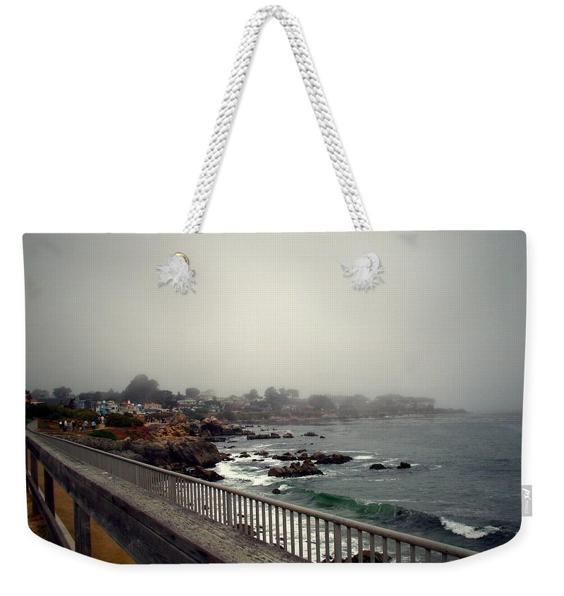 Pacific Grove Weekender Tote Bag featuring the photograph Pacific Grove California Usa by Joyce Dickens