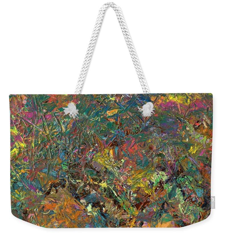 Expressionism Weekender Tote Bags