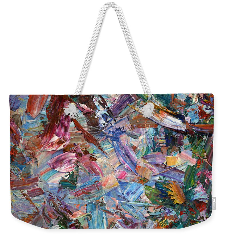 Abstract Illusionism Weekender Tote Bags