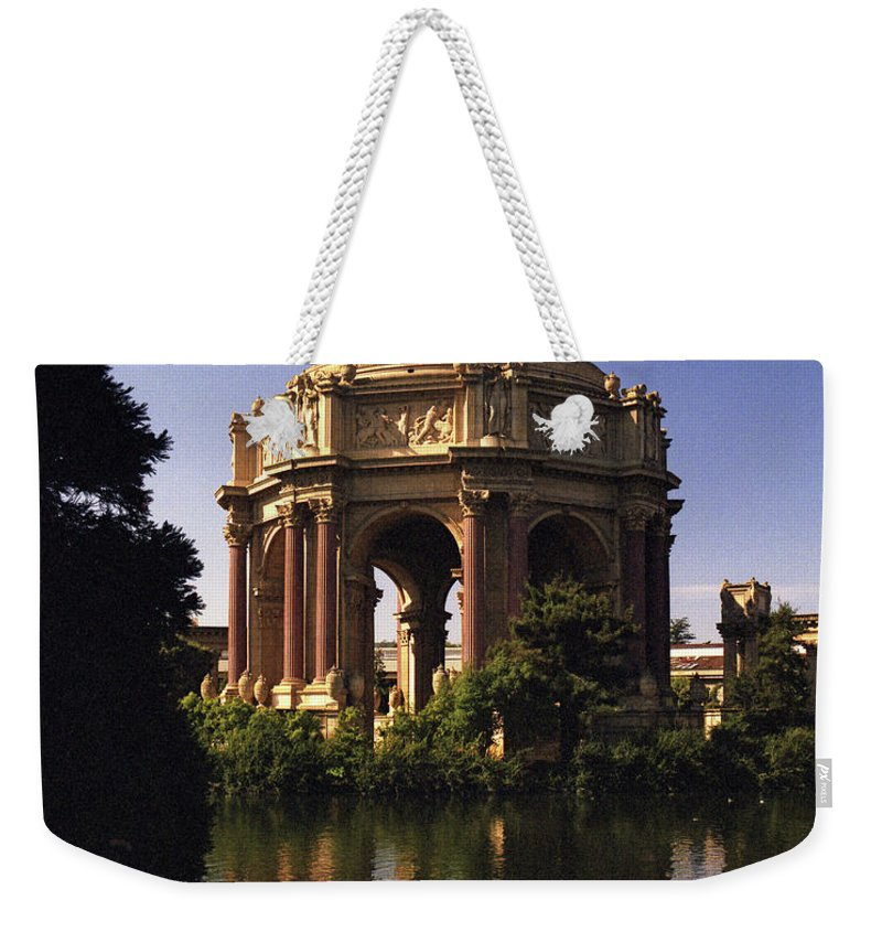 Palace Of Fine Arts Weekender Tote Bag featuring the photograph Palace Of Fine Arts Sf by Lee Santa