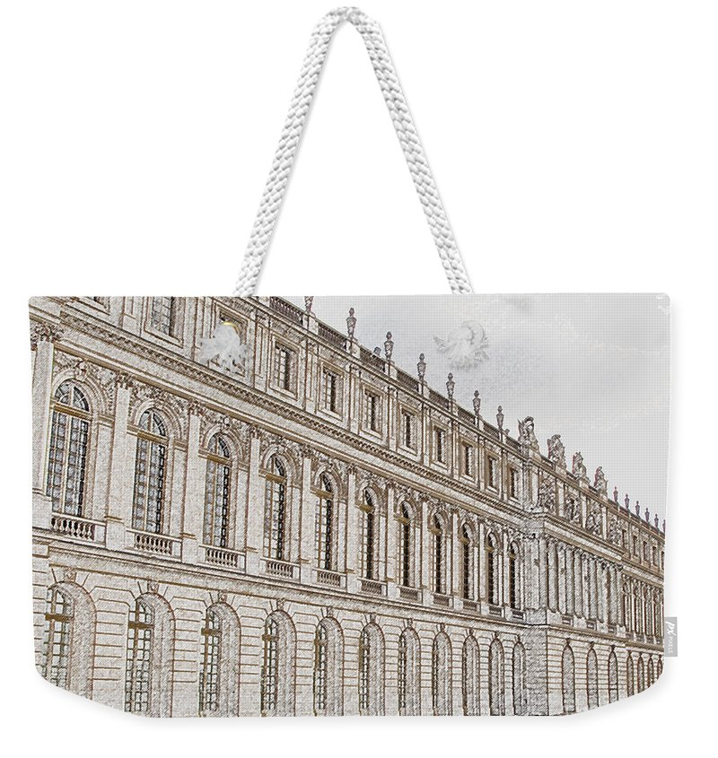 France Weekender Tote Bag featuring the photograph Palace Of Versailles by Amanda Barcon