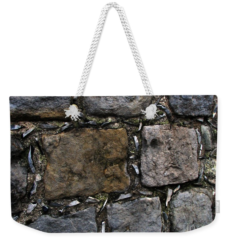 Bath Weekender Tote Bag featuring the photograph Palace Walls by Amanda Barcon
