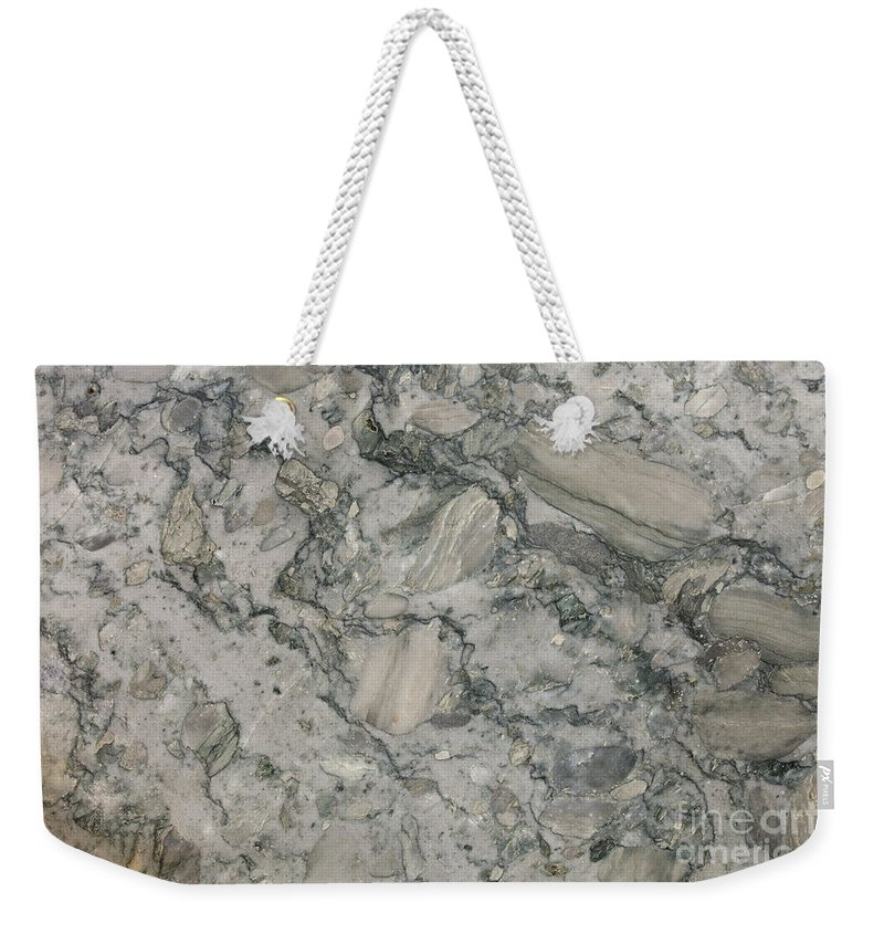 Granite Weekender Tote Bag featuring the photograph Palazzo Granite by Anthony Totah