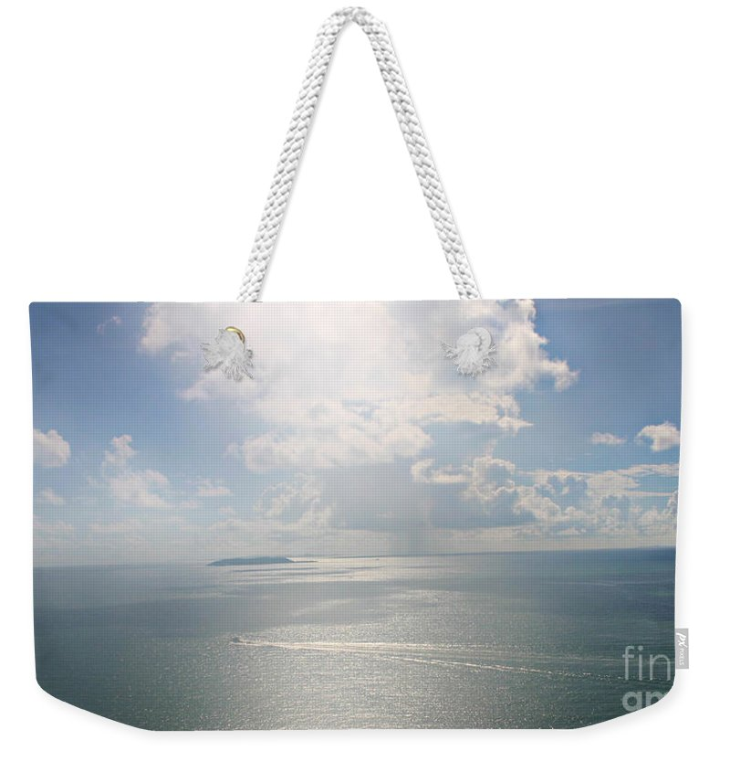Island Weekender Tote Bag featuring the photograph Palomino Island by Gilbert