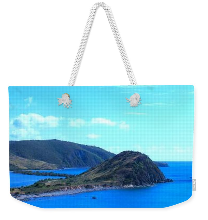 St Kitts Weekender Tote Bag featuring the photograph Panhandle by Ian MacDonald