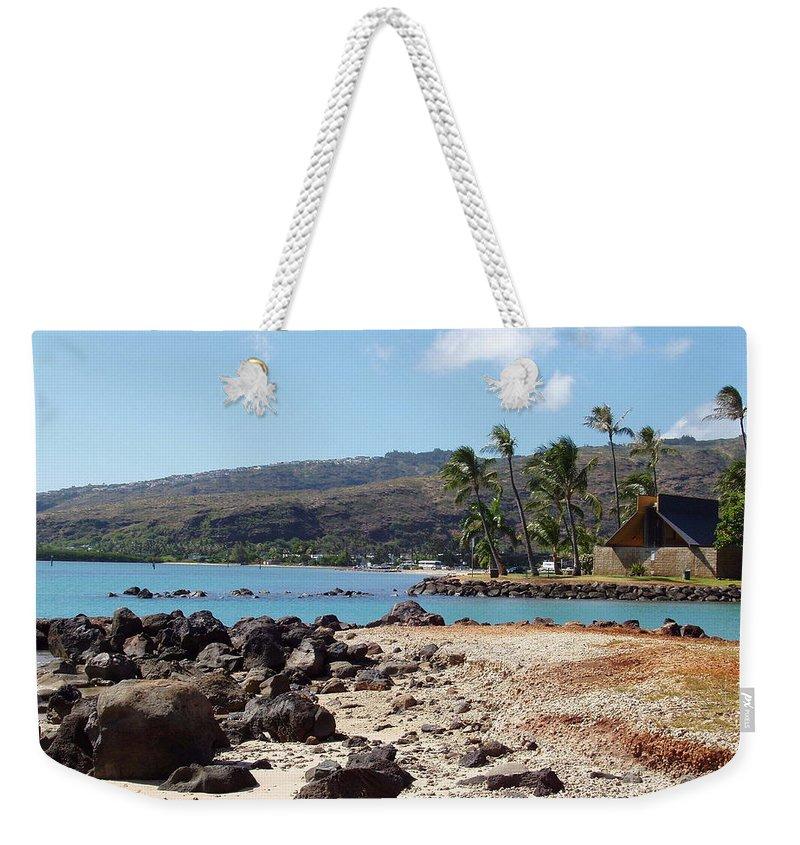 Hawaii Weekender Tote Bag featuring the photograph Panorama by Deborah Crew-Johnson